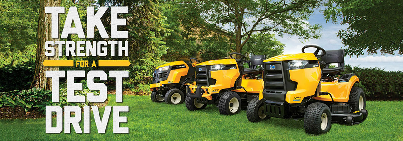 Take Strength for a Test Drive - Cub Cadet zero-turn mowers